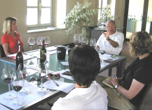 Everyone was blown away by out tasting with Angelo. I put him up there with Piero Antinori and the late Robert Mondavi as someone with so much charisma that people who have contact with him are buzzing for days afterwards.